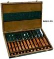 Набор из 12 резцов с деревянной ручкой в коробке Profi /NAREX/ 8681 00
